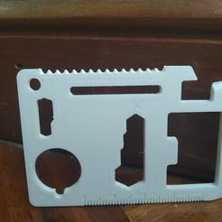IMG_20200623_162455.jpg Download free STL file Multipurpose card • 3D printing design, Marc3D