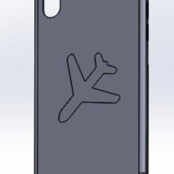 Télécharger fichier STL gratuit coque iphone X avion • Design pour imprimante 3D, imprimezen3d