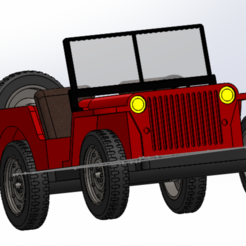 jeep face - Copie.PNG Download STL file jeep wilys • 3D print model, imprimezen3d