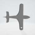 Télécharger fichier STL gratuit porte clés avion • Design pour imprimante 3D, imprimezen3d