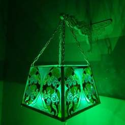 -ночник.jpg Download free STL file Chandelier, night light butterfly • Template to 3D print, gaevskiiy