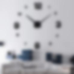 Télécharger fichier imprimante 3D gratuit Сlock sur le mur, gaevskiiy