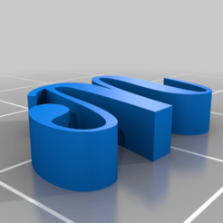 thing.png Download free STL file 3d letters font numbers stl • 3D printing template, gaevskiiy