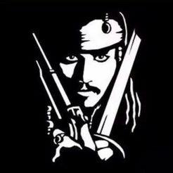 4161774b6e0f400ec5cbc3ad749f20e3.jpg Télécharger fichier STL gratuit Capitaine Jack Sparrow • Design pour imprimante 3D, gaevskiiy