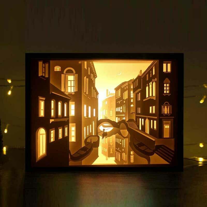 THÀNH PHỐ VEN SÔNG.jpg Download free STL file lightbox venice • 3D printer template, gaevskiiy