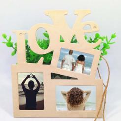 Télécharger fichier STL gratuit L'amour du cadre photo • Plan pour imprimante 3D, gaevskiiy