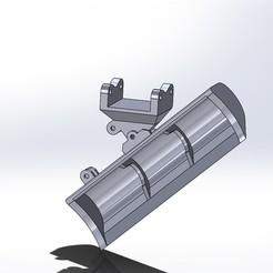 Assem2.JPG Télécharger fichier STL Godet à inclinaison angulaire Liebherr 926 • Modèle à imprimer en 3D, samuelturri