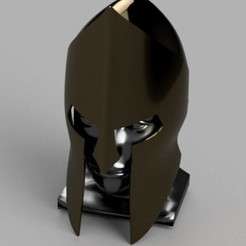 Download 3D printer files Spartan Style Helm, Yurican