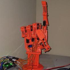 Télécharger objet 3D MECH-A2 Main robotisée, Yurican