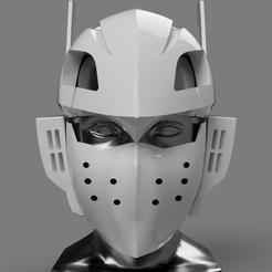 Tenya Lida v17.jpg Download STL file Tenya Iida Mask - My Hero Academia • 3D print template, Yurican