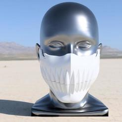 Harribel Mask v6.jpg Download STL file Harribel Hollow / Espada Mask • Object to 3D print, Yurican