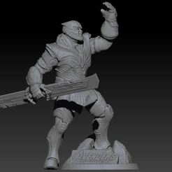 1.JPG Download free STL file THANOS AVENGERS ENDGAME • 3D print design, l3dmanstore