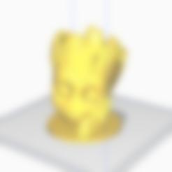 Groot-Mate.stl Télécharger fichier STL gratuit MATE GROOT MANITO • Plan imprimable en 3D, l3dmanstore