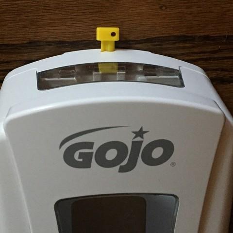 Télécharger fichier 3D gratuit Outil distributeur de savon GOJO, zapta