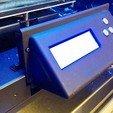 Download free 3D print files Flashforge Creator Pro Slanted LCD Panel, zapta