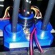 Download free STL file Flashforge Creator Pro Improved Extruder Plate, zapta
