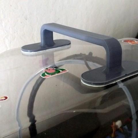 Télécharger fichier impression 3D gratuit Poignée de dôme Flashforge Creator Pro améliorée, zapta