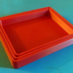 IMG_20151212_100148.jpg Download free SCAD file Customizable Nested Parts Trays • 3D printer design, zapta