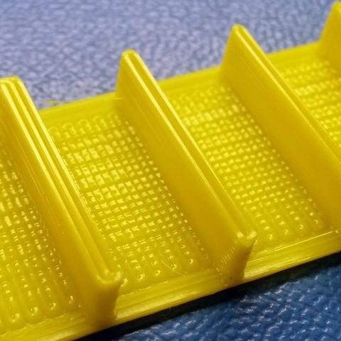 Télécharger plan imprimante 3D gatuit Test d'impression 3D sur parois minces personnalisable, zapta
