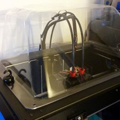 Free 3D printer files Improved Dome for Flashforge Creator Pro, zapta