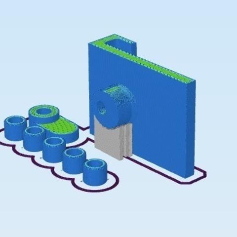 e3349c4488e7af6a311cbea64210afa8_display_large.jpg Télécharger fichier STL gratuit Flashforge Creator Pro Super Duper Spool Hanger Creator Pro • Design pour impression 3D, zapta