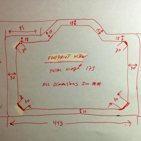 d52c04a3a3b86ca31cb73ee135ecc28a_display_large.jpg Télécharger fichier STL gratuit Dôme amélioré pour Flashforge Creator Pro • Modèle pour imprimante 3D, zapta