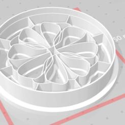 m1.png Download STL file cookie cutter stamp mandala • 3D print model, satis3d