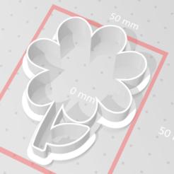 Descargar modelos 3D para imprimir flor cortadora de galletas, maryhynes16