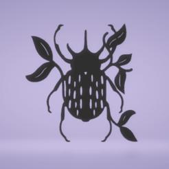 c1.png Download STL file wall decor colorado potato beetle • Model to 3D print, satis3d