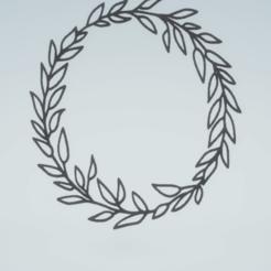 c1.png Télécharger fichier STL décoration murale ensemble de couronnes botaniques • Modèle pour impression 3D, satis3d