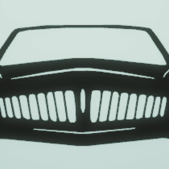 Download STL wall decor car, satis3d