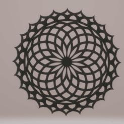 c1.png Télécharger fichier STL mandala de décoration murale • Objet pour impression 3D, satis3d