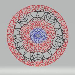 c1.png Download STL file wall decor mandala • Object to 3D print, satis3d