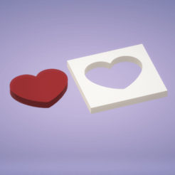 c0.png Download STL file Decoration heart block • 3D printer template, satis3d