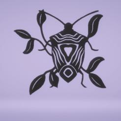 c1.png Download STL file wall decor stink bug • Model to 3D print, satis3d