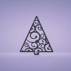 c1.png Download STL file wall decor tree • 3D printable template, satis3d