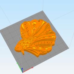 c1.png Télécharger fichier STL décoration murale 3d betta fish mandala • Design pour impression 3D, satis3d