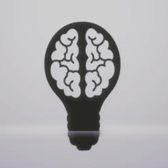 c1.png Download STL file wall decor brain lamp • 3D printable model, satis3d