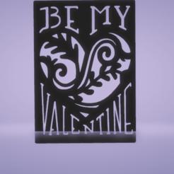 c1.png Download STL file stencil be my valentine • 3D print design, satis3d