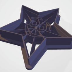 c01.png Télécharger fichier STL étoile de timbre à l'emporte-pièce avec le sourire • Plan pour imprimante 3D, satis3d