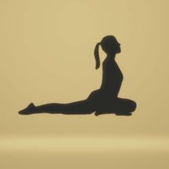 c1.png Télécharger fichier STL yoga de la décoration murale • Plan à imprimer en 3D, satis3d