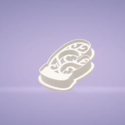c1.png Download STL file cookie cutter stamp winter glove • 3D print model, satis3d