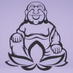 Télécharger fichier 3D Bouddha de la décoration murale, satis3d
