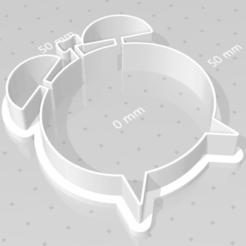 Download 3D printer designs cookie cutter clock, satis3d