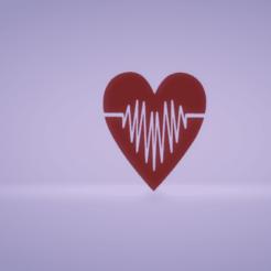 c1.png Télécharger fichier STL décoration murale heart beat • Design pour imprimante 3D, satis3d