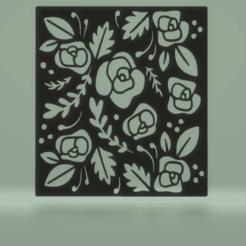 c1.png Télécharger fichier STL pochoir floral • Design pour impression 3D, satis3d