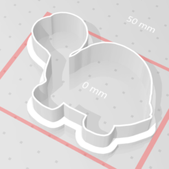 Télécharger modèle 3D Tortue coupeuse de biscuits, satis3d