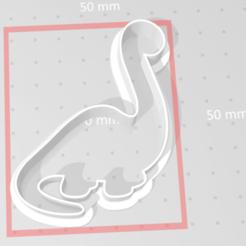 Descargar archivos 3D cortador de galletas dino 3, maryhynes16