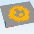 c2.png Download STL file wall decor soccer ball splat • 3D printable model, satis3d