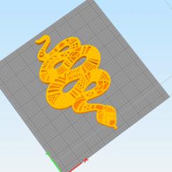 c1.png Télécharger fichier STL décoration murale 3d mandala serpent • Plan à imprimer en 3D, satis3d